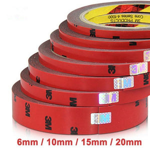 2pcs/ lot Strong Permanent 3M Double Sided Acrylic Foam Adhesive Tape Versatile Car Auto Truck Craft 6mm 10mm 20mm - efair.co