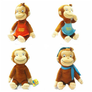 30cm Plush Curious George Monkey Stuffed Animals Toy - efair Best spare parts online shopping website