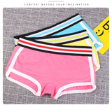 3PCS/lot Panties Women Combed Cotton Punk solid safety Underwear wide belt Girl Casual Briefs Sexy Lingerie Female Underpants - efair Best spare parts online shopping website