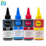 4 Color Universal 100ml Refill Dye Ink Kit for Epson for Canon for HP for Brother for Lexmark for Dell Printer for CISS Ink - efair Best spare parts online shopping website
