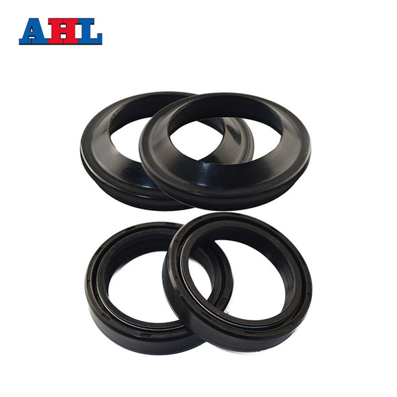41x54x11 Motorcycle Front Fork Damper Oil Seal & Dust Seal For HONDA CB750 XL650 TRANSALP 2000-06 Motorbike Bike Shock Absorber
