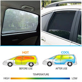 4PCS/Set Or 2PCS/Set Magnetic Car Side Window SunShades Mesh Shade Blind For Toyota Camry 2012 2013 2014 2015 2016 2017 Curtain - efair Best spare parts online shopping website