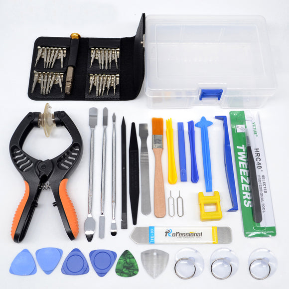 53 in1 Repair Tools Kit Screwdriver  Mobile Phone Screen Opening PliersPry Disassemble Tool Set for iPhone Samsung iPad - efair Best spare parts online shopping website