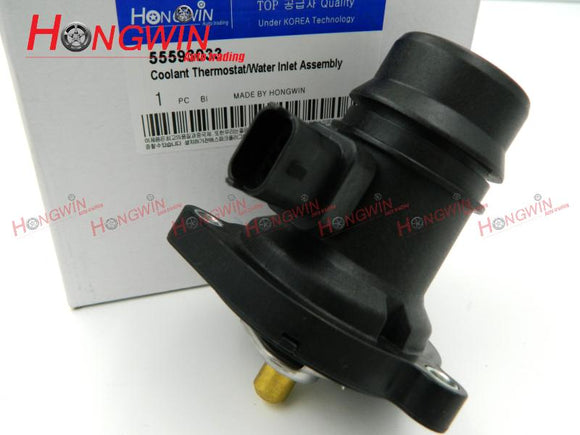 55593033 Thermostat Housing Fits CHEVROLET AVEO Corsa Adam Astra-J VAUXHALL ADAM GTC Corsa E D Corsavan Meriva 06-10 Termostato - efair Best spare parts online shopping website