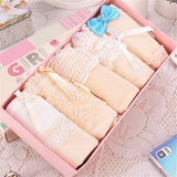 5pcs/Lot Panties Women Underwear Briefs Children Girls Sexy Bragas Mujer Lace Panties For Women Cotton Sexy Lingerie Tange Thong - efair.co