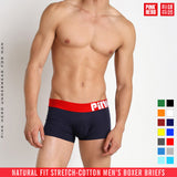 8 Colors  Sexy Men Boxers Popular Plus Size Underwear Breathable Cotton Spandex Underpants Panties Solid Man Shorts Boxers - efair Best spare parts online shopping website
