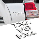 ABS 3D Car sticker Car Accessories For Toyota LAND CRUISER PRADO LAND CRUISER V6 V6 V8 5.7 VX TXL VXL VXR Car stickers