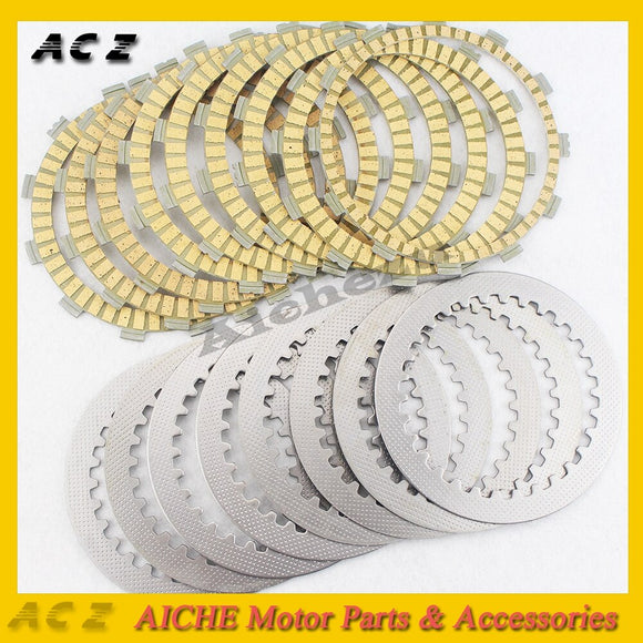 ACZ Motorcycle A Set Engine Parts Clutch Frictions Steel Plates Clutch Frictions Plate Kit For YAMAHA YZF1000 YZF R1 2008-2014 - efair Best spare parts online shopping website