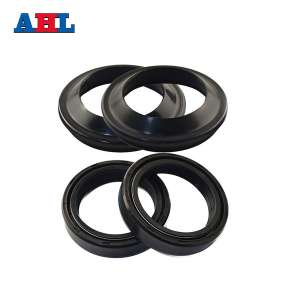 AHL 37*49*12 Motorcycle Parts Front Fork Damper Oil Seal And Dust Seal Size 37*49*13 37x49x13 Motorbike Shock Absorber