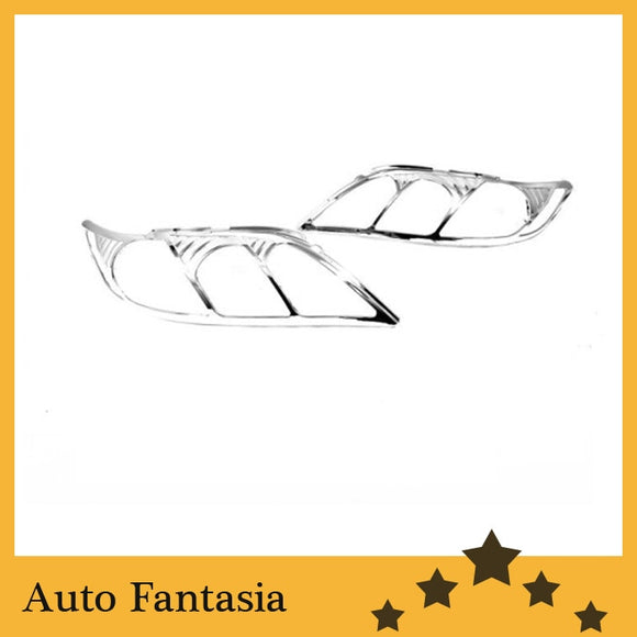 Auto Chrome Parts Chrome Head Light Cover for Toyota Camry 07-11-Free Shipping - efair Best spare parts online shopping website