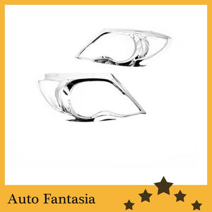 Auto Chrome Parts Chrome Head Light Cover for Toyota Hilux Vigo 05-09-Free Shipping - efair Best spare parts online shopping website