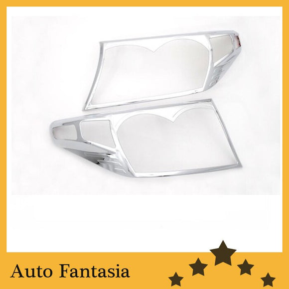 Auto Chrome Parts Chrome Head Light Cover for Toyota Land Cruiser FJ200 08-12-Free Shipping - efair Best spare parts online shopping website