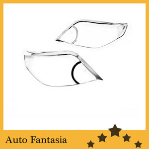 Auto Chrome Parts Chrome Head Light Cover for Toyota Land Cruiser Prado J150-Free Shipping - efair Best spare parts online shopping website