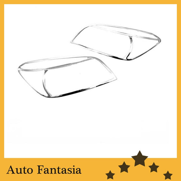 Auto Chrome Parts Chrome Head Light Cover for Toyota Rav4 06-12-Free Shipping - efair Best spare parts online shopping website