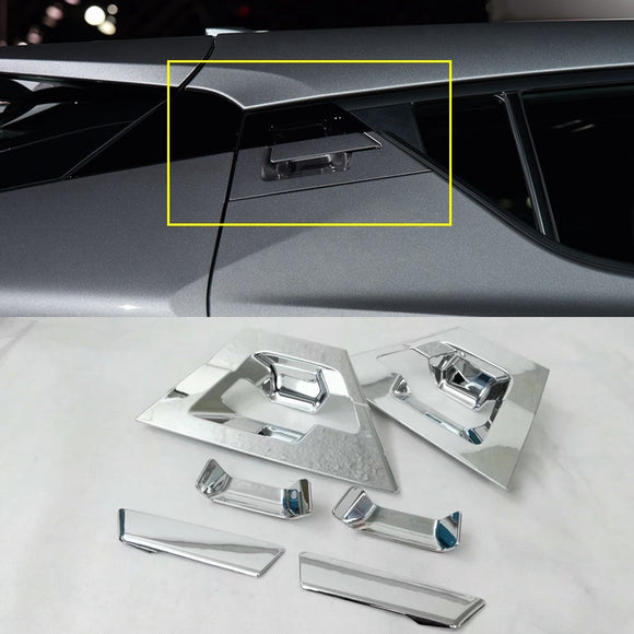 Auto Parts For Toyota C-HR CHR 2016 2017 ABS Chrome Exterior Door Bowl Cover Trims Decorative Stickers Car Accessories 6Pcs/set - efair Best spare parts online shopping website