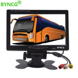 BYNCG  7'' Color TFT LCD Monitor Car Rear View Monitor Rearview Display Screen for Vehicle Backup Camera Parking Assist System - efair.co