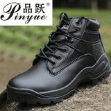 Black Sand Swat Men's Tactical ankle Boots Military Combat Shoes leather Autumn Winter outdoor training Desert Boots Size 39-45 - efair Best spare parts online shopping website