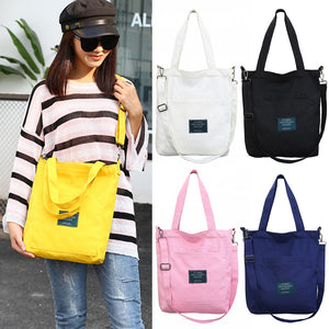 Canvas Handbag Women Shoulder Bag with Removable Strap Multi Pockets Crossbody Wear Resistant Casual Fashion Zipper Bag #1114 - efair Best spare parts online shopping website