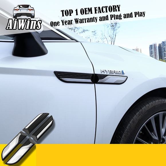 Car Styling Fits For Toyota Camry 2018 2019 ABS plus stainless steel  Side Ventilation Trim Decor Auto Exterior Parts - efair Best spare parts online shopping website