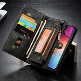 Case For Samsung Galaxy A50 Case Zipper Leather Wallet Cover Case for Coque Samsung Galaxy A50 A 50 A505F Phone Bag Case Fundas - efair Best spare parts online shopping website