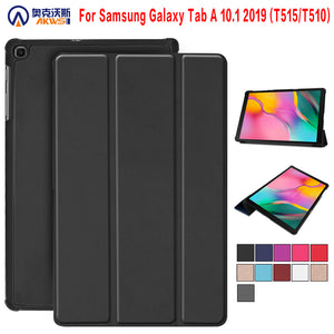 Case for Samsung Galaxy Tab A 2019 SM-T510 SM-T515 T510 T515 Tablet cover Stand Case for Tab A 10.1'' 2019 tablet case+gift - efair Best spare parts online shopping website