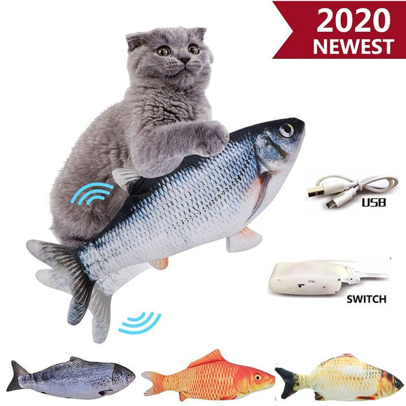 Catnip Fish Toys For Cats Game Playing Sleeping Chewing Toy Training Scratcher Claws New Fun Creative Soft Stuffed Plush Pillow