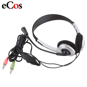 Cheap Wired Gaming Earphone Headphone With Microphone 3.5mm Plug MIC VOIP Headset Skype for PC Computer Laptop  #21228 - efair Best spare parts online shopping website