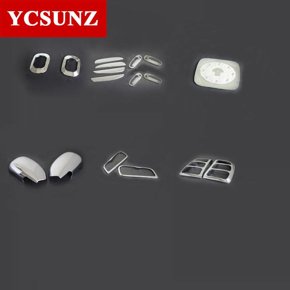 Chrome Kits For Toyota Rav4 1996-2000 Car Rav4 Parts Light Protection Side Lamp Rim Trim For Toyota Rav 4 1997 1998 1999 Ycsunz - efair Best spare parts online shopping website