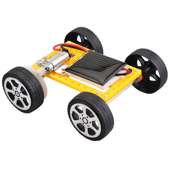 DIY Robot Solar Mini Powered Toy Children Solar Car Assemble Toy Set Solar Powered Car Kit Educational Science for Kid MJ1206 - efair Best spare parts online shopping website