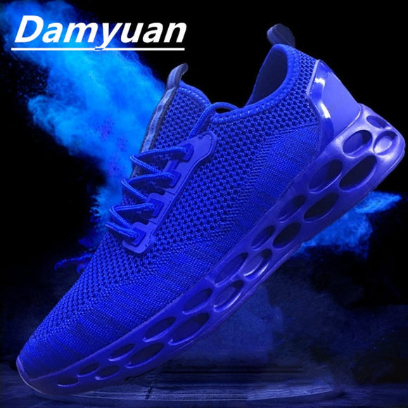 Damyuan 2019 Fashion Men Shoes and Casual Shoes Flyweather Comfortable Breathabl Non-leather Lightweight Shoes - efair Best spare parts online shopping website