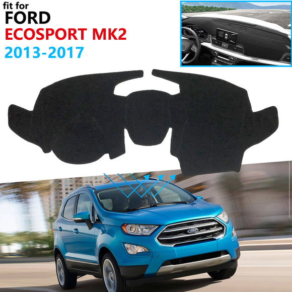Dashboard Cover Protective Pad for Ford EcoSport MK2 2013 2014 2015 2016 2017  Car Accessories Dash Board Sunshade Carpet