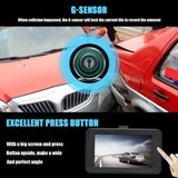 Driving Recorder 1080P DVR Dashboard Camera Full HD 3 Inch LCD Screen 170Wide Angle  Cyclic Recording Motion Detection - efair.co