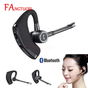 FANGTUOSI high quality V8S Business Bluetooth Headset Wireless Earphone with mic for iPhone Bluetooth V4.1 Phone Handsfree - efair.co
