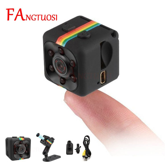 FANGTUOSI sq11 Mini Camera HD 1080P Sensor Night Vision Camcorder Motion DVR Micro Camera Sport DV  Video small Camera cam SQ 11 - efair.co