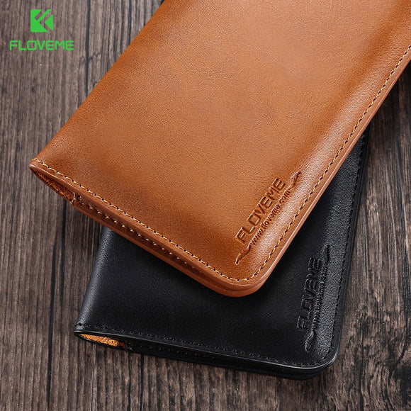 FLOVEME Genuine Leather Case For Xiaomi Redmi 4X Note 4 4X Case Wallet Flip Cover Cases For Xiaomi Redmi 4X Pro Xiaomi Phone Bag - efair Best spare parts online shopping website