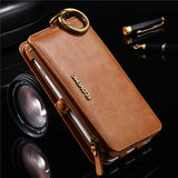 FLOVEME Retro Leather Flip Phone Case For Huawei P9 P10 P10 Plus Wallet Phone Bag Case For Xiaomi Mi5 Mi 5 Stand Holder Cover - efair Best spare parts online shopping website