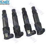 FREE SHIPPING-King Way- 4 PCS Ignition Coils 129700-4400 For Suzuki GSX1300R Hayabusa 1300R 99-09 11 12 - efair.co
