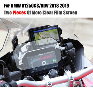 For BMW R1250GS ADV Adventure 2018 2019 Cluster Scratch Protection Film Screen Protector TPU R1250 R RS R 1250 GS - efair.co