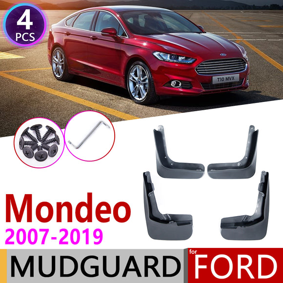 For Ford Mondeo MK4 MK5 2007~2019 Fusion CD391 Fender Mudflap Mud Guard Splash Flap Mudguards Accessories 2009 2010 2015 2018