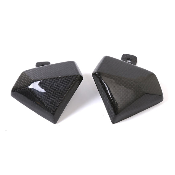 For Kawasaki Z800 2013 2014 2015 2016 Motorbikes Motorcycle Carbon Fiber Carburator Guard Cover Protection Guard Protector - efair.co