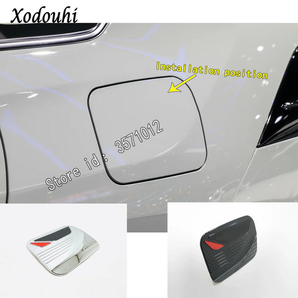 For Toyota RAV4 2019 2020 car sticker styling body Gas/Fuel/Oil Tank Cover Cap auto parts hoods frame moulding Panel 1pcs - efair Best spare parts online shopping website