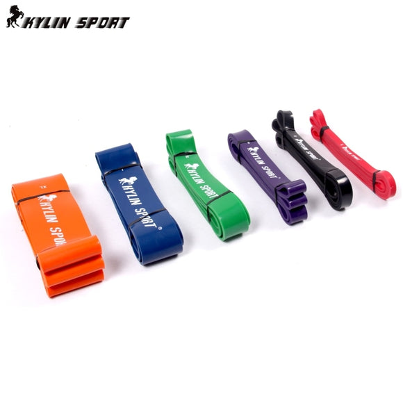 Free Shipping Nature Pure Latex resistance bands  6 size fitness power training strength loop pull up bands rubber expander - efair Best spare parts online shopping website