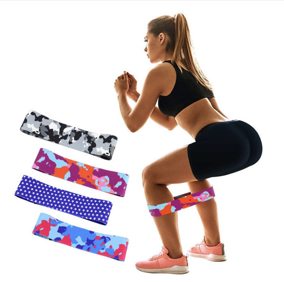 GR Hip Resistance Band Booty Elastic Bands Workout Exercise for Legs Thigh Glute Butt Squat Bands Fitness Yoga Training Gym - efair Best spare parts online shopping website