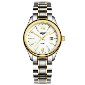 GUANQIN GQ80019 watches men luxury brand fashion female new Korean female European and American small dial simple luminous - efair.co