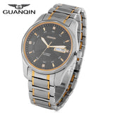 GUANQIN Men Automatic Mechanical Watch 10ATM Dual Calendar Sapphire Glass Mirror Luminous Wristwatch - efair Best spare parts online shopping website