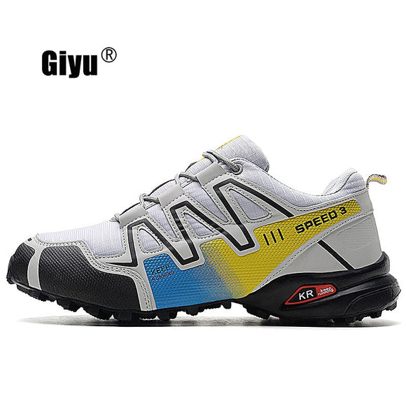 Giyu New Orange  Shoes Zapatos Hombre Sneakers Men Speed Cross 4 CS III Sapato Masculino Speedcross Sport Running Shoes 40-48 - efair Best spare parts online shopping website