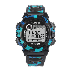 HONHX Luxury Brand watch Kids Child Multifunction Waterproof Sports Electronic Watch Military LED Digital Quartz Watch Relogio - efair.co