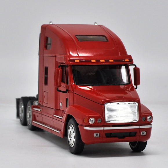 High simulation 1: 32 Kenworth Engineering Car Tractor Trailer European Truck Advanced model For Kids Toys Gifts Free Shipping