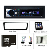 Hikity 1 Din JSD-520 Bluetooth Radio SD MP3 Player Car Radios Stereo FM/USB/radio remote control For phone Car Audio - efair Best spare parts online shopping website