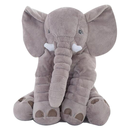Hot 1pc 40/60cm Infant Plush Elephant Soft Appease Elephant Playmate Calm Doll Baby Toy Elephant Pillow Plush Toys Stuffed Doll - efair.co